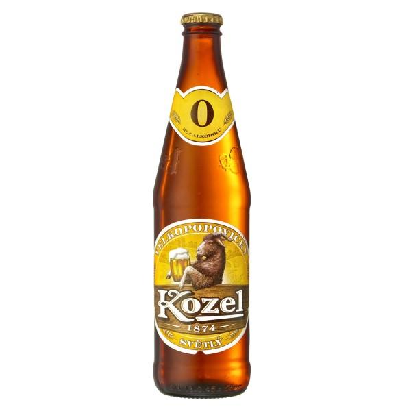 Пиво Велкопоповицкий Козел безалкогольное светлое 0,5% 0,45л