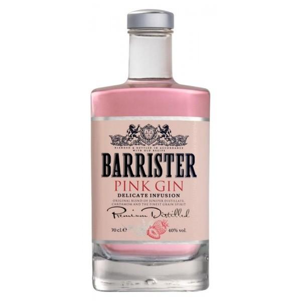 Джин  40% Barrister Pink 0,7л