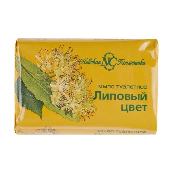 Мыло туалетное Невская косметика Липовый цвет 90гр
