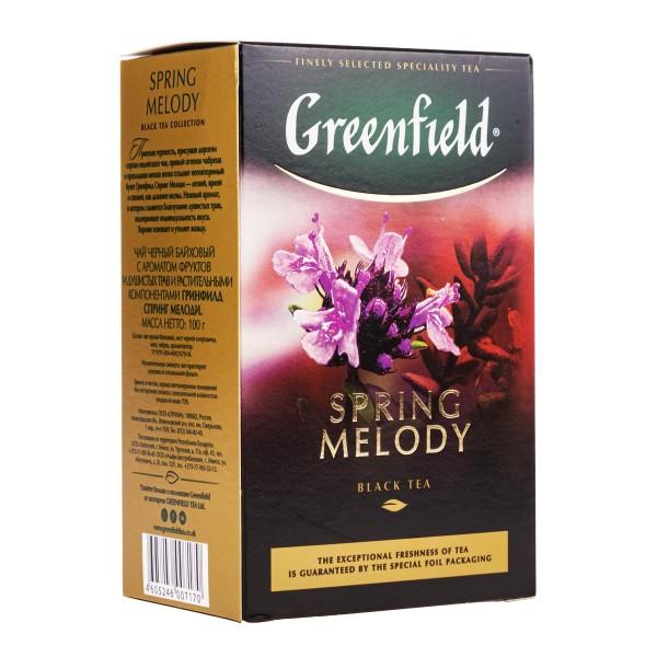 Чай черный Greenfield Spring Melody 100гр