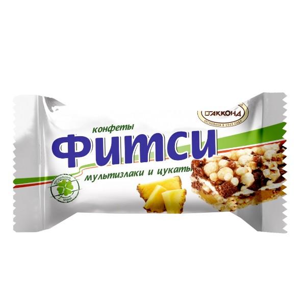 Конфеты Фитси Акконд Мультизлаки и цукаты