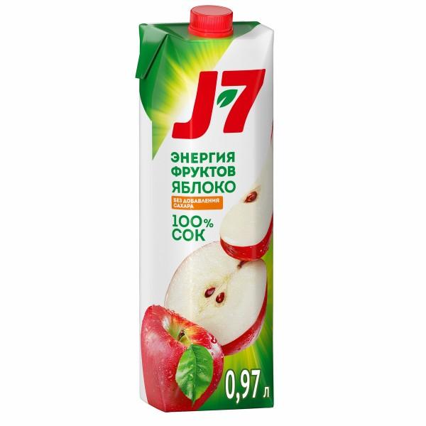 Сок J-7 0,97л яблоко