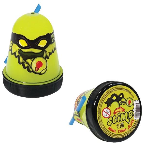 Лизун Slime-ninja желтый