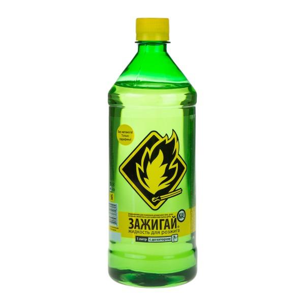 Жидкость для розжига Зажигай-ка 1л
