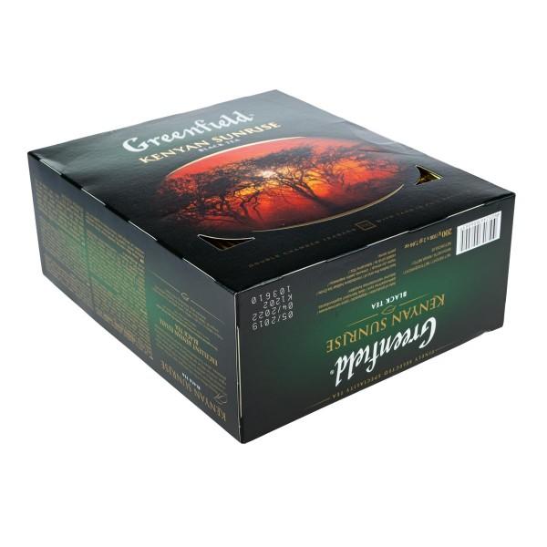 Чай черный Greenfield Kenyan Sunrise 100пак