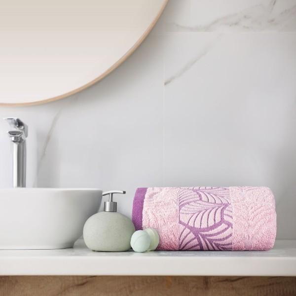 Полотенце махровое Шервуд 50х90см розовый/parfait pink