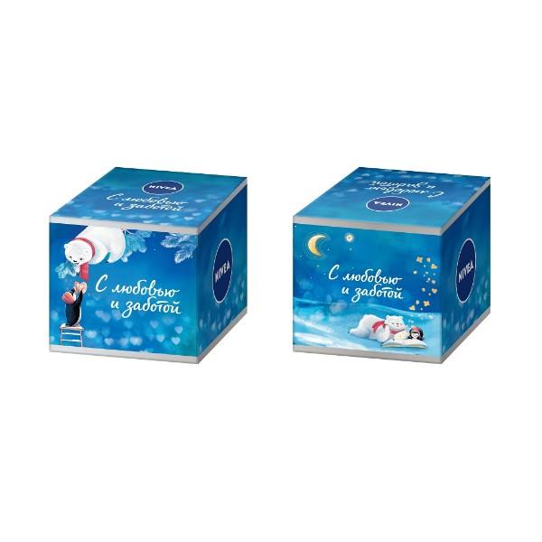 Набор подарочный Nivea Универсальный уход: крем увлажняющий и крем-мыло