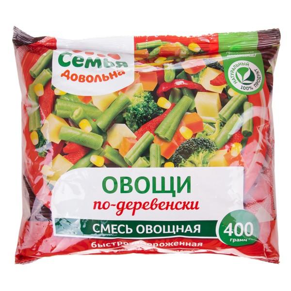 Смесь Овощи по-деревенски Семья довольна 400гр
