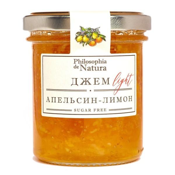 Джем Light Philosophia de Natura 180г лимон-апельсин