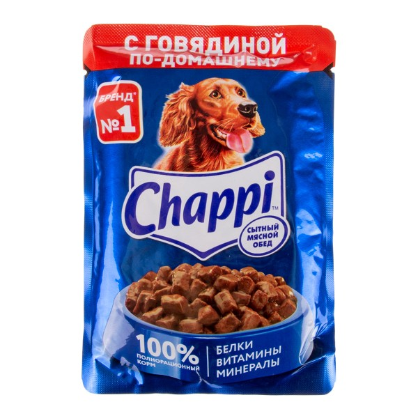 "КОРМ Д/СОБАК ""ЧАППИ"" 85ГР ПАУЧ"