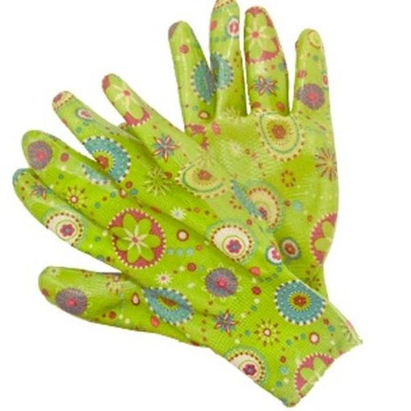 Перчатки хозяйственные с нитриловым покрытием Listok размер М