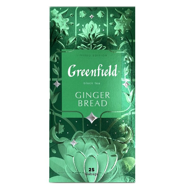 Чай черный Greenfield Ginger Bread 25 пакетиков