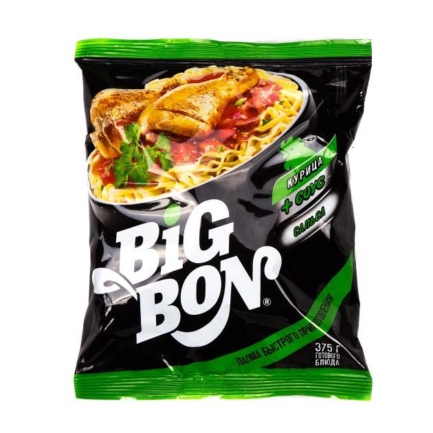 Лапша быстрого приготовления Big bon 75гр курица соус сальса