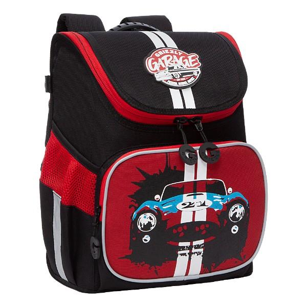 Рюкзак школьный Grizzly 26х35х16см