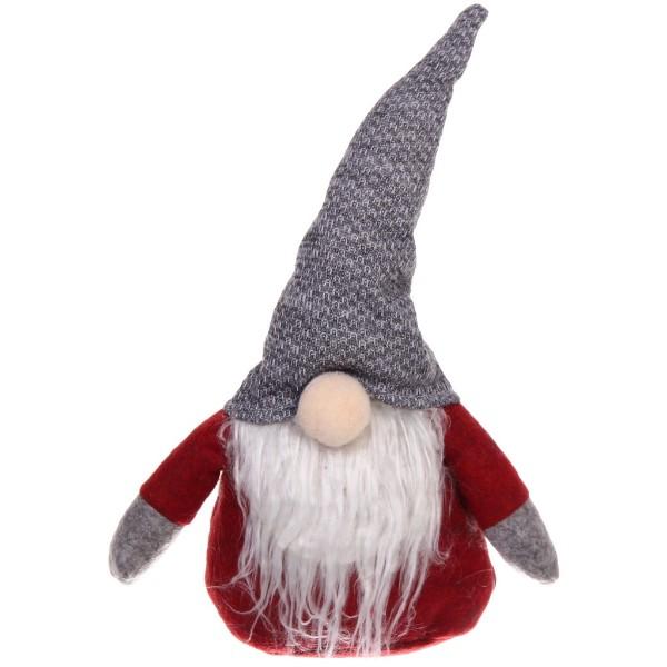 Игрушка мягкая Дед Мороз 28см Серпантин