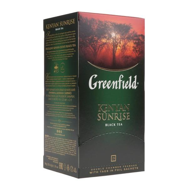 Чай черный Greenfield Kenyan Sunrise 25пак