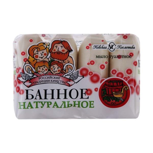 Мыло туалетное Невская косметика Банное 4шт