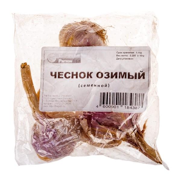 СЕМЕНА ЧЕСНОК-СЕВОК ОЗИМЫЙ 200ГР (+/-10)