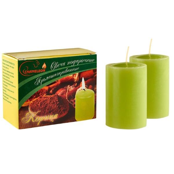 Набор свечей ароматизированных 6см корица