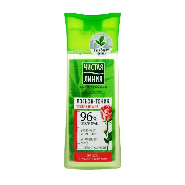 Лосьон-тоник Чистая линия для сухой и чувствительной кожи 100мл