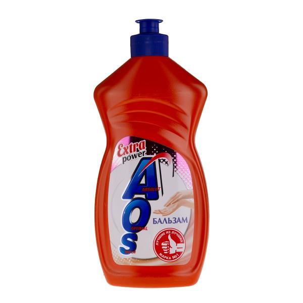 Средство для мытья посуды AOS 450мл бальзам
