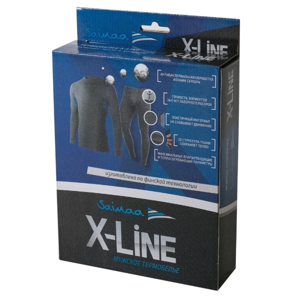 Мужской комплект термобелья X-Line р.54