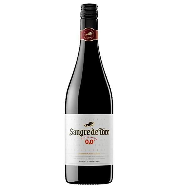 Вино безалкогольное красное полусладкое Sangre de Toro 0.0 Dealcoholized Red 0,75л