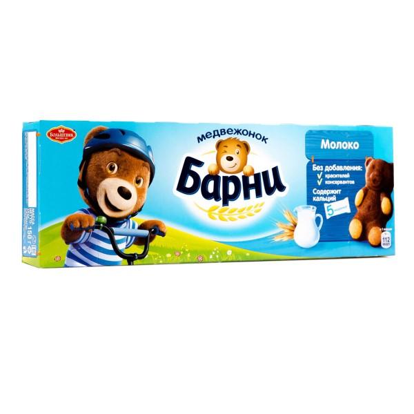 Пирожное Медвежонок Барни 150гр молоко