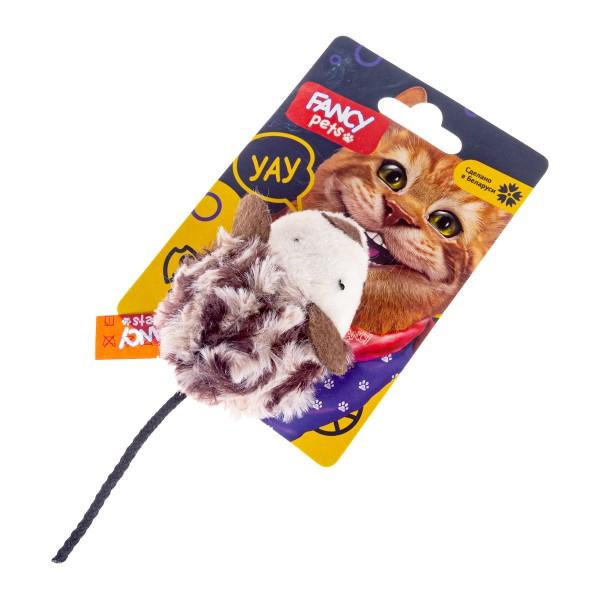 Игрушка для кошек Мышь Fancy Pets