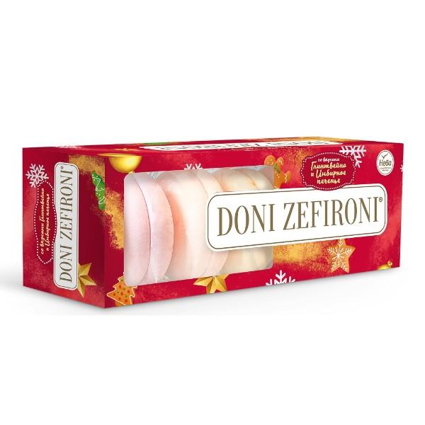 Зефир Doni Zefironi со вкусами глинтвейна и имбирного печенья 210г