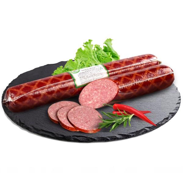 Колбаса полукопченая Сервелат Французский Вологодский мясокомбинат