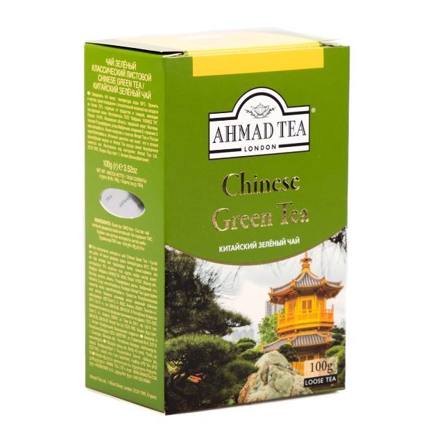 Чай зеленый Ahmad Tea Chinese Green Tea 100гр