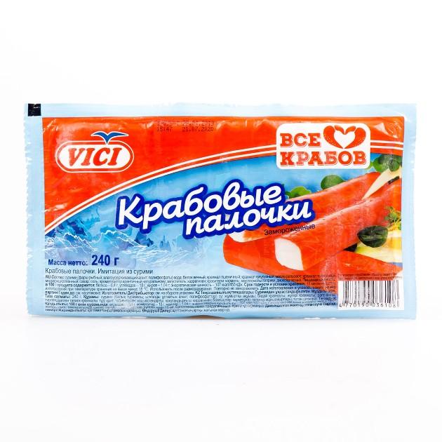 Крабовые палочки замороженные Vici 240г