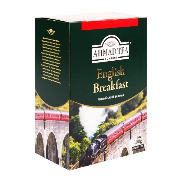 Чай черный Ahmad Tea English Breakfast 200гр