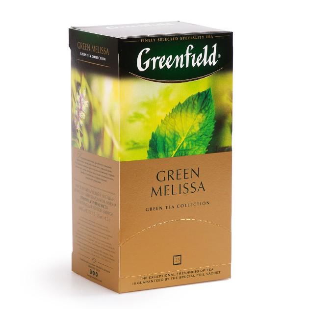 Чай зеленый Greenfield Green Melissa 25пак