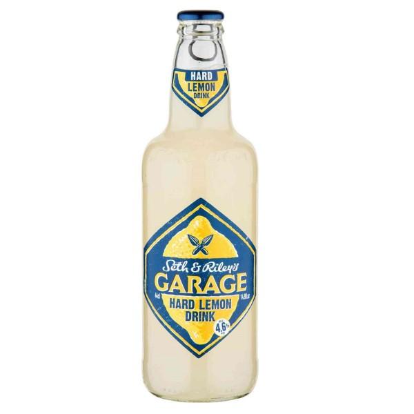 Напиток пивной  Garage Hard lemon 4,6% 0,44л