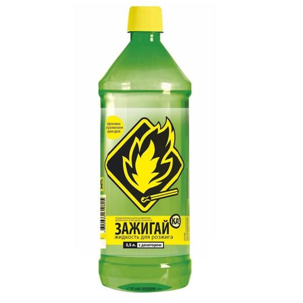 Жидкость для розжига Зажигай-ка 0,5л