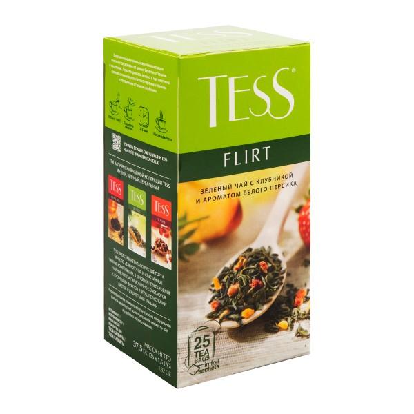 Чай зеленый Tess Flirt 25пак