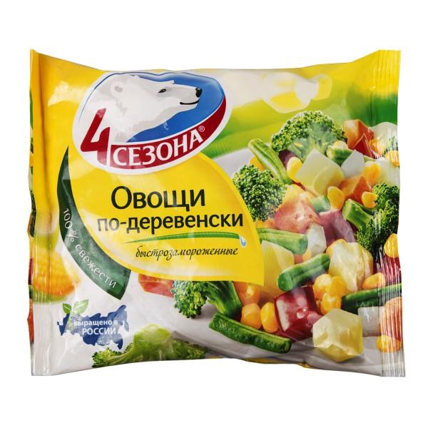 Смесь Овощи по-деревенски Четыре сезона 400гр
