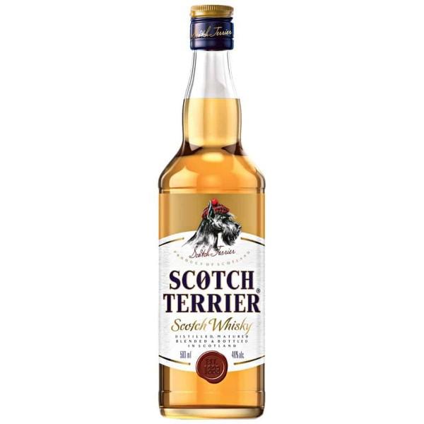 Виски Scotch Terrier 40% 0,7л