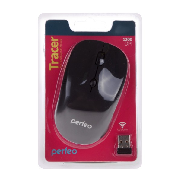 Мышь оптическая Perfeo Tracer 4 кнопки
