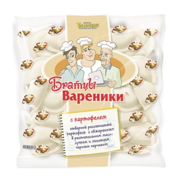 Вареники Братцы вареники с картофелем Уральские пельмени 350г