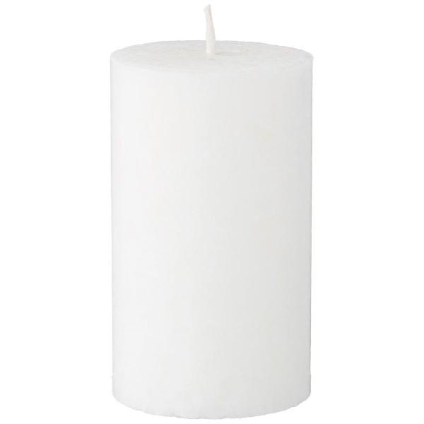 Свеча-столб 12см белая