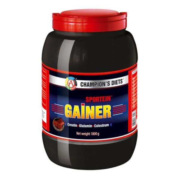 Продукт белково-углеводный Sportein Gainer 750гр шоколад