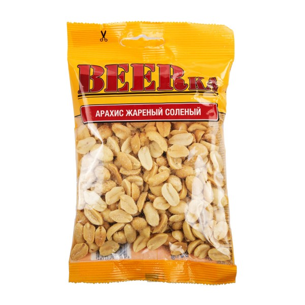 Арахис жареный соленый BEERka 90гр