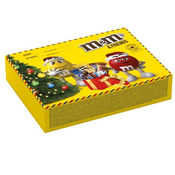 Подарок новогодний M&M'S 256гр