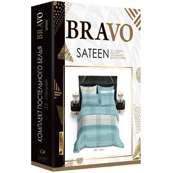 Комплект постельного белья Bravo 2-спальный сатин