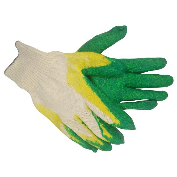 Перчатки трикотажные с двойным латексным обливом