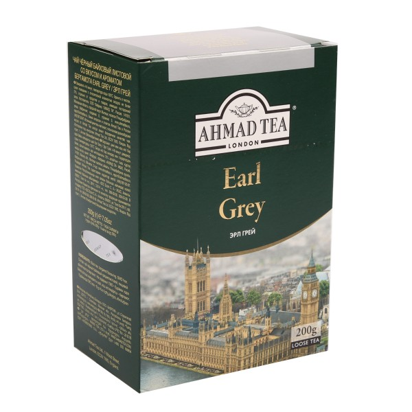 Чай черный Ahmad Tea Earl Grey 200гр
