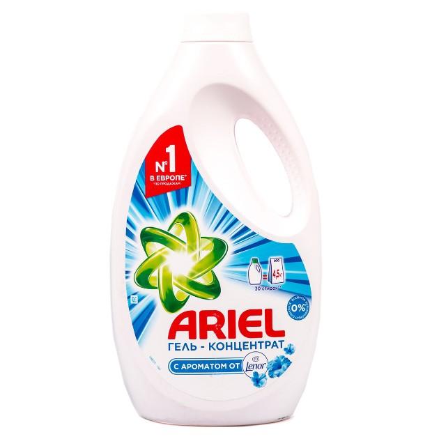 Гель-концентрат для стирки Ariel 1,95л lenor